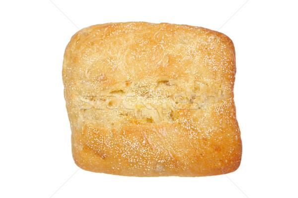 Pain chignon isolé blanche alimentaire blé Photo stock © broker