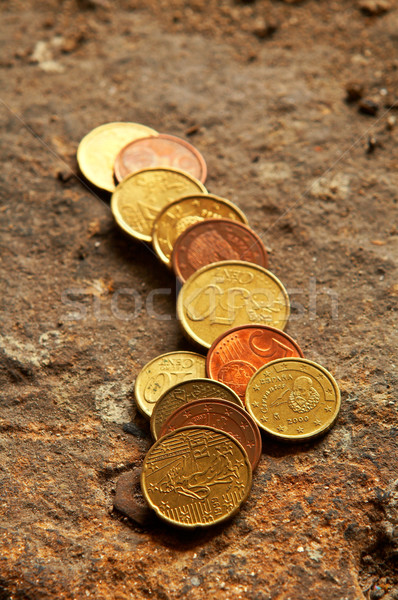 Stack of coins Stock photo © broker