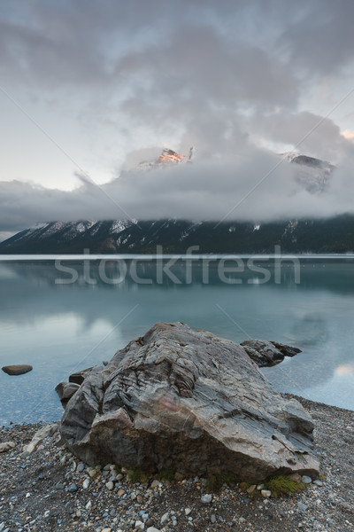 Lake Minnewanka, Banff National Park Stock photo © broker