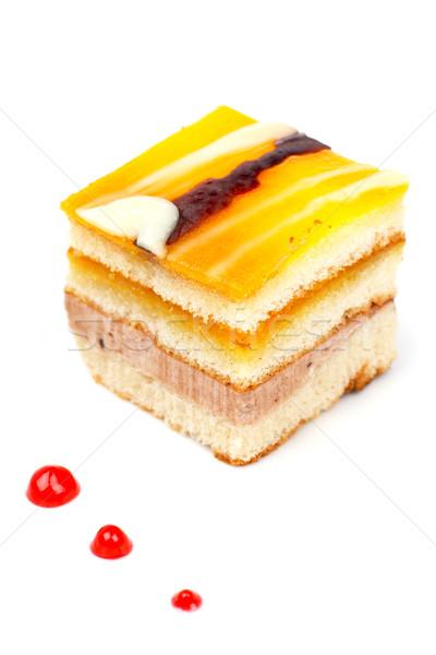 Delicious cake Stock photo © broker