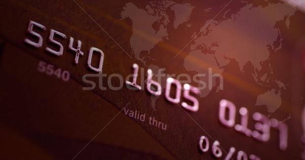 Credit card Stock photo © broker