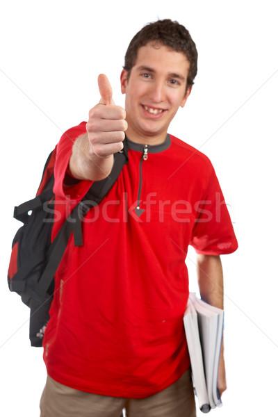 Success gesture Stock photo © broker