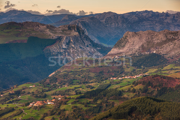 Mountain landscape, Stock photo © broker
