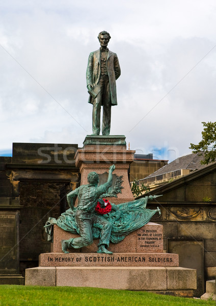 Edinburgh Civil War Memorial Stock photo © broker