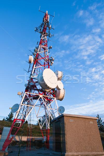 Telecommunications tower Stock photo © broker