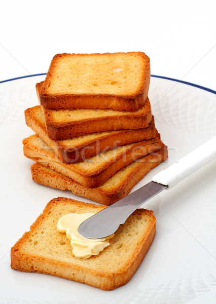 Toast with butter Stock photo © broker