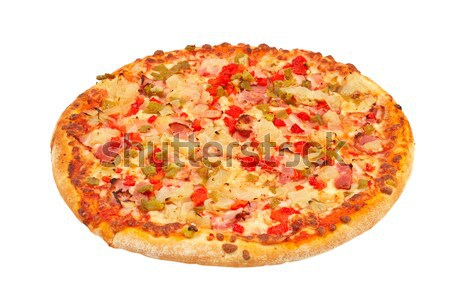 Italian pizza Stock photo © broker