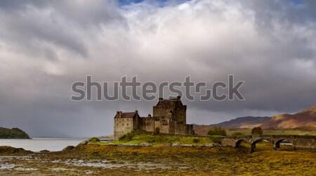 Eilean Donan castle Stock photo © broker
