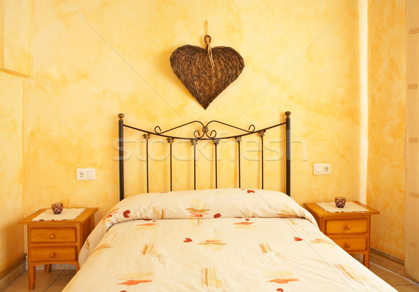 Beautiful bed Stock photo © broker