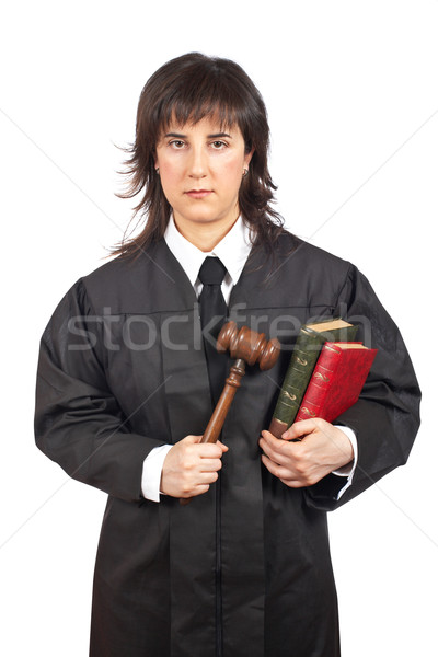 Female judge Stock photo © broker