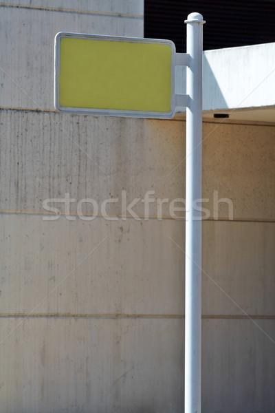 Blank billboard Stock photo © broker