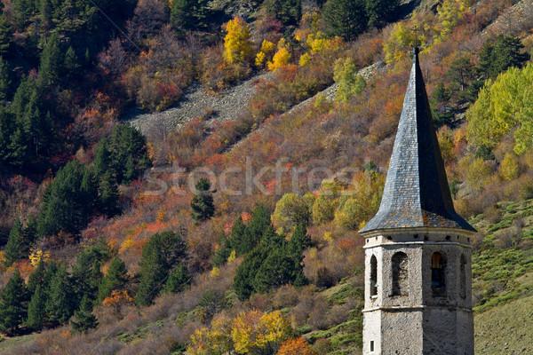 Sanctuary of Montgarri, Valle de Aran, Spain Stock photo © broker