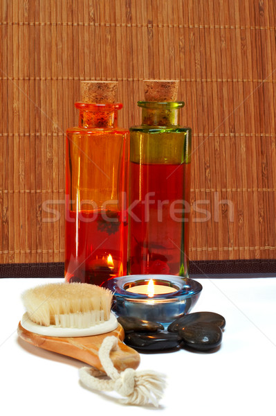 Bath accessories and beauty products Stock photo © broker