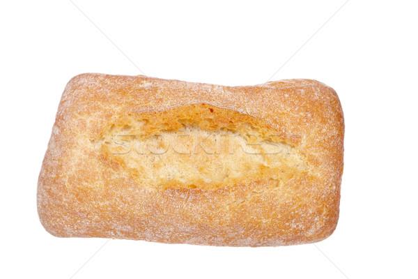 Stock photo: Crusty bread bun