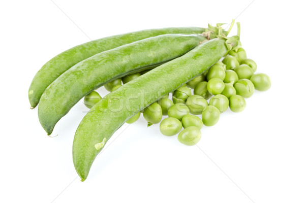 Peas with pods Stock photo © broker