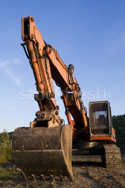 Excavator Stock photo © broker