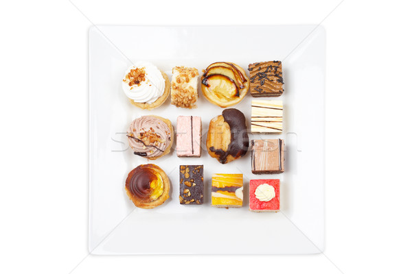 Assortment of delicious cakes Stock photo © broker