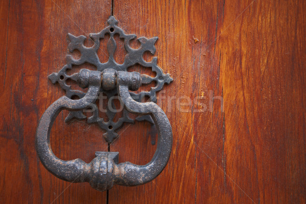 Old door knocker Stock photo © broker