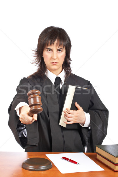 Sentencing Stock photo © broker