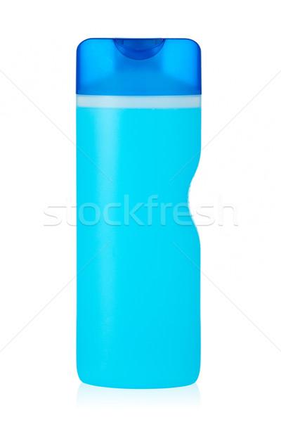 Plastic fles zeep shampoo label gezondheid Stockfoto © broker