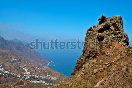 Canary Islands village Stock photo © broker