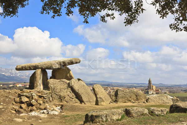 Megalithic tomb Stock photo © broker