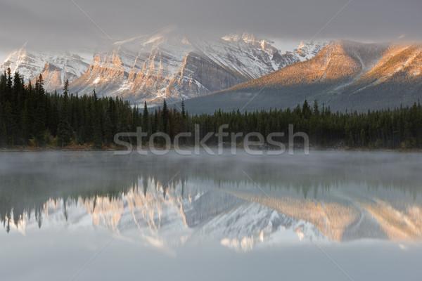 Herbert Lake, Canada Stock photo © broker