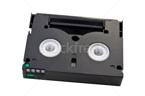 Stock photo: Mini DV cassette with clipping path included.