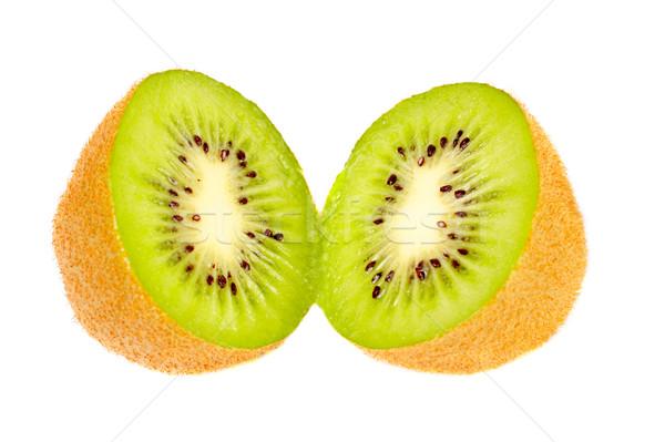 Two half of kiwi fruit Stock photo © broker