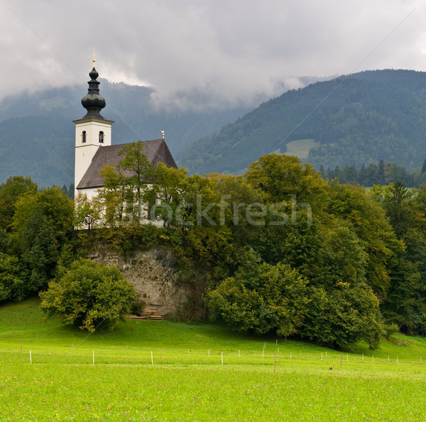 St Nikolaus Church, Golling, Austria Stock photo © broker