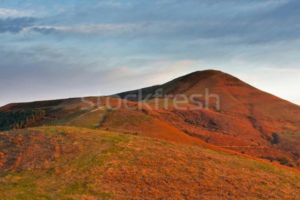 Landscape sunrise Stock photo © broker