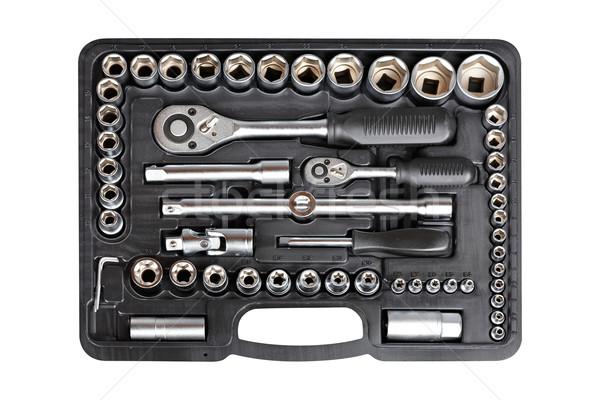Socket wrench set Stock photo © broker