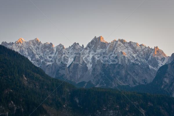 Austria catena montagna natura panorama Foto d'archivio © broker