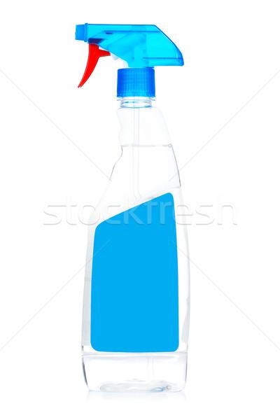 моющее средство спрей бутылку изолированный белый химического Сток-фото © broker