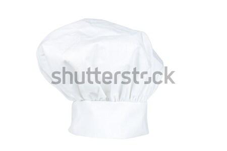 Szakács sapka izolált fehér tiszta szakács tárgy Stock fotó © broker