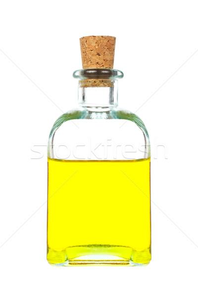 Virgin olive oil bottle Stock photo © broker