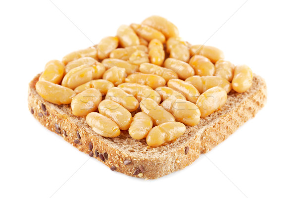 Baked beans Stock photo © broker