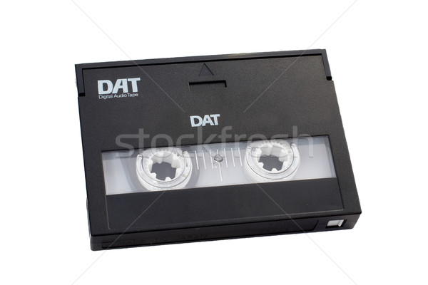 Digital audio tape DAT with clipping path included. Stock photo © broker