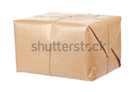 Brown package Stock photo © broker