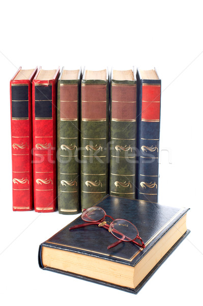 Glasses and books Stock photo © broker