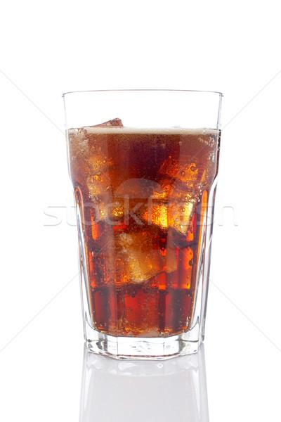 Сток-фото: соды · пить · стекла · льда · энергии