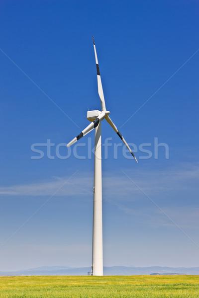 Wind energy Stock photo © broker