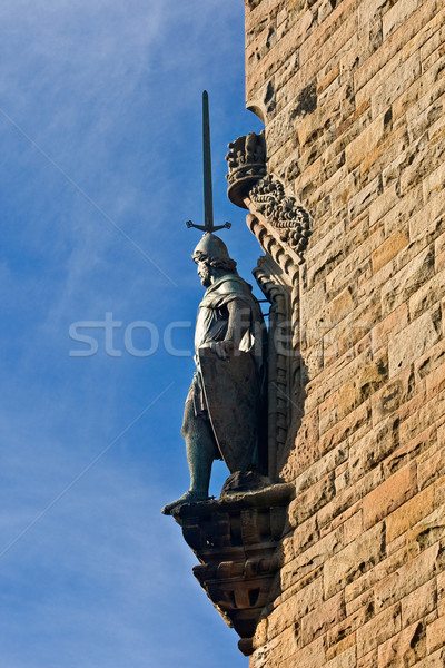 National Wallace Monument statue Stock photo © broker