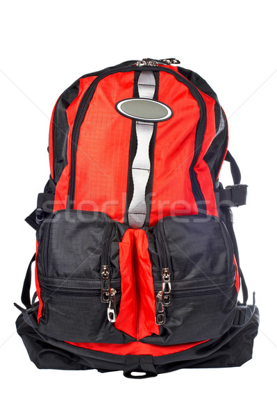 Black and red backpack Stock photo © broker