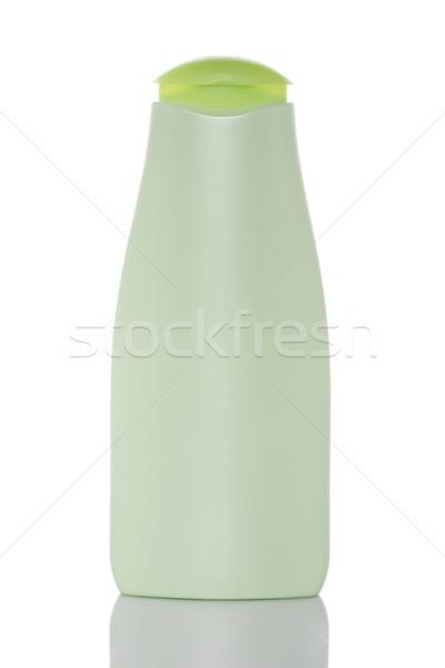 Stock fotó: Műanyag · üveg · szappan · sampon · címke · egészség
