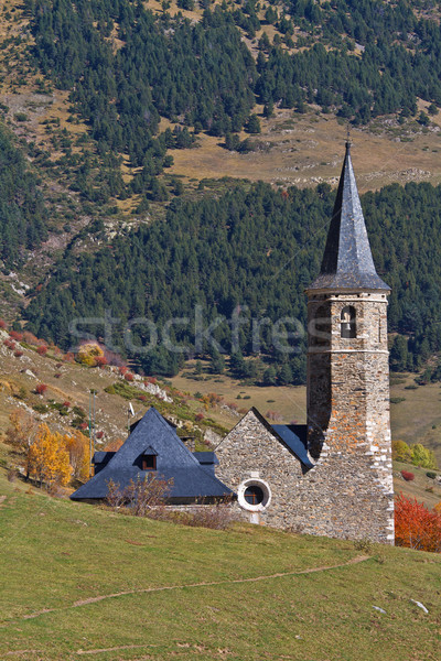 Sanctuary of Montgarri, Valle de Aran, Spain Stock photo © broker