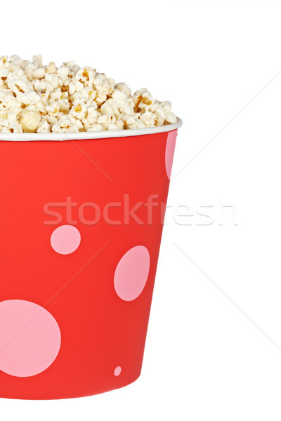 Popcorn in a bucket Stock photo © broker