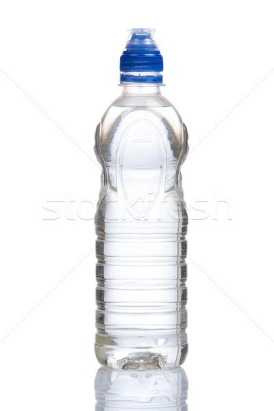 üveg ásványvíz cseppek víz étel egészség Stock fotó © broker