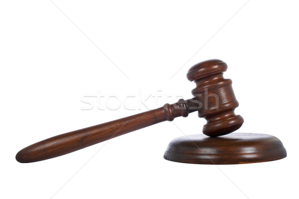 Stock photo: Gavel