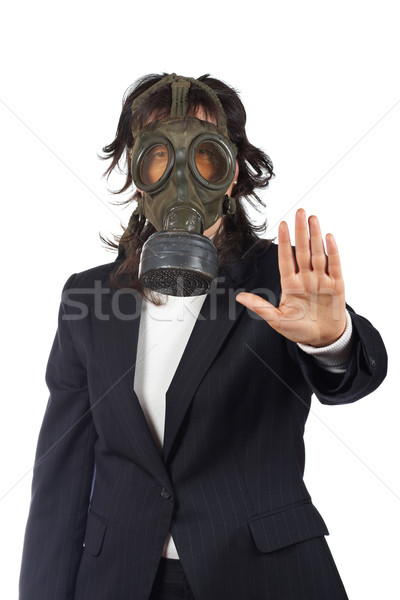 STOP, Ecological disaster Stock photo © broker